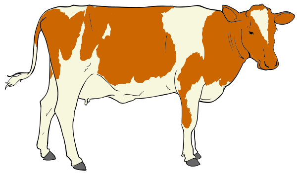 Free Cow Clip Art