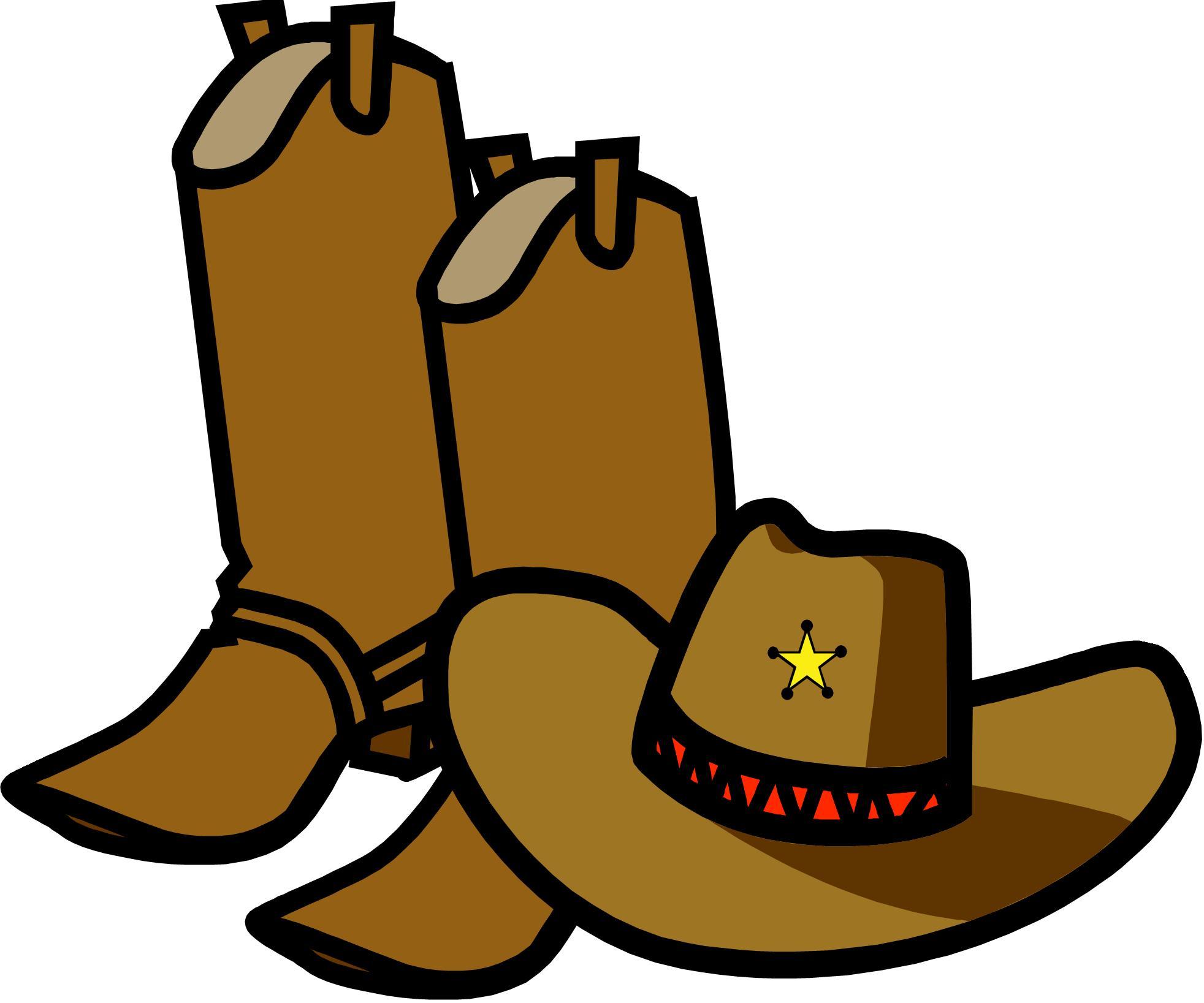 Free cowboy clip art clipart 2 clipartcow