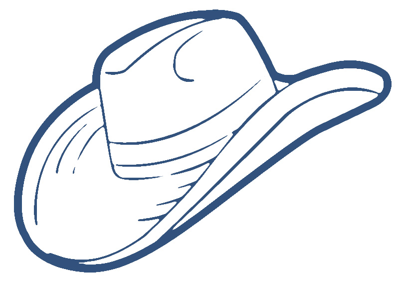 Free Cowboy Hat Clipart