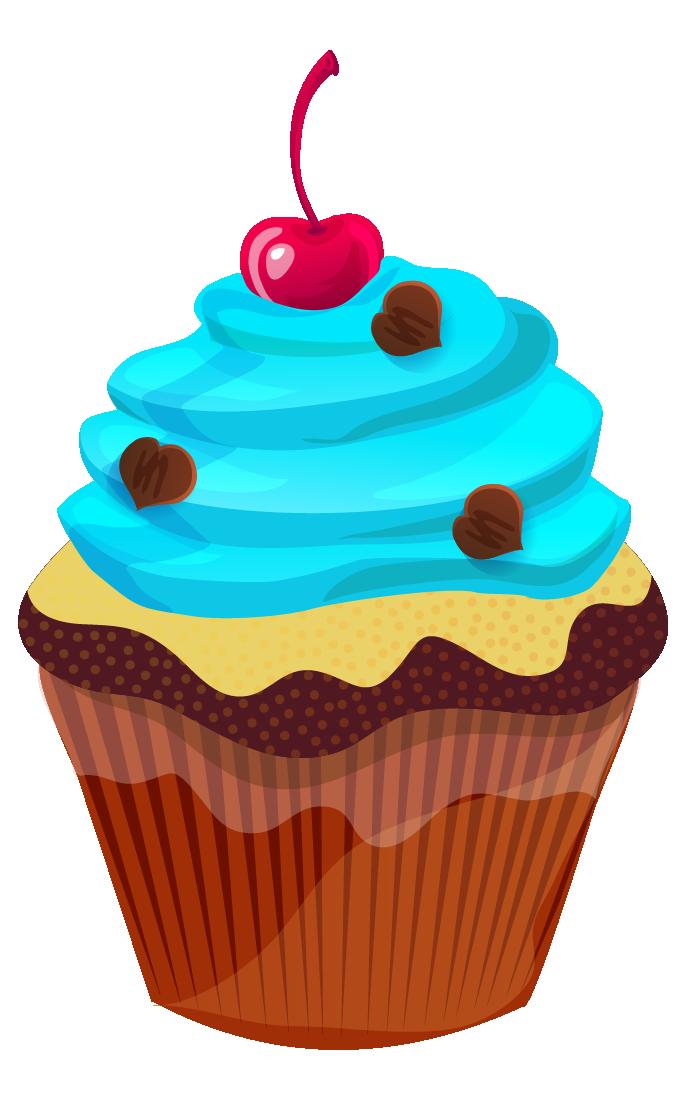 Free Cupcake Clip Art u0026middot; cupcake14