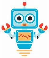 Free Cute Cartoon Robot Clip Art