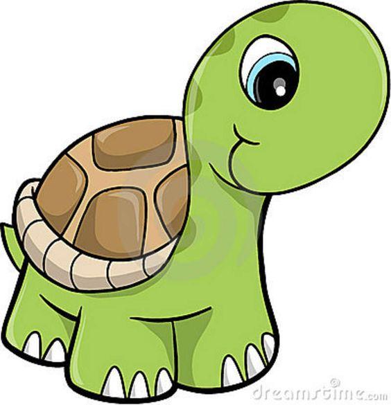 Free Cute Clip Art   Cute Safari Turtle Vector Illustration Royalty Free Stock Photos .