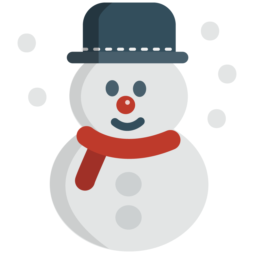 Free Cute Little Snowman Clip Art