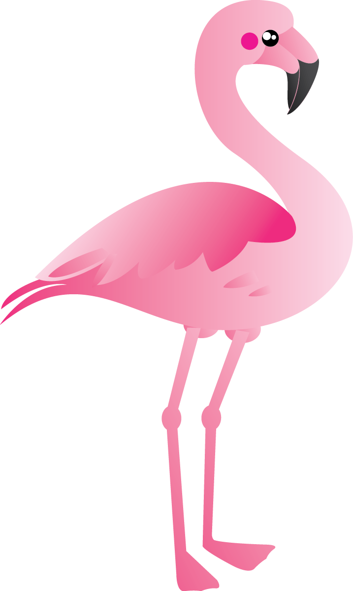 Free Cute Pink Flamingo Clip Art u0026middot; flamingo11