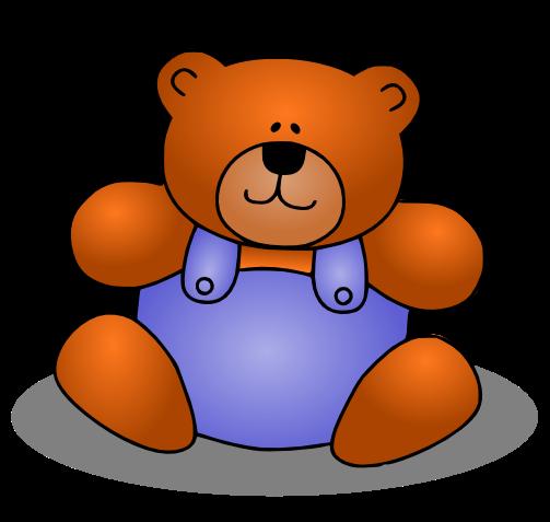 Free Cute Teddy Bear Clip Art
