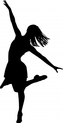 Free Dance Clip Art Images - WallHi clipartall.com | Silhouette Cameo Ideas | Pinterest | Clip art, Taps and Art