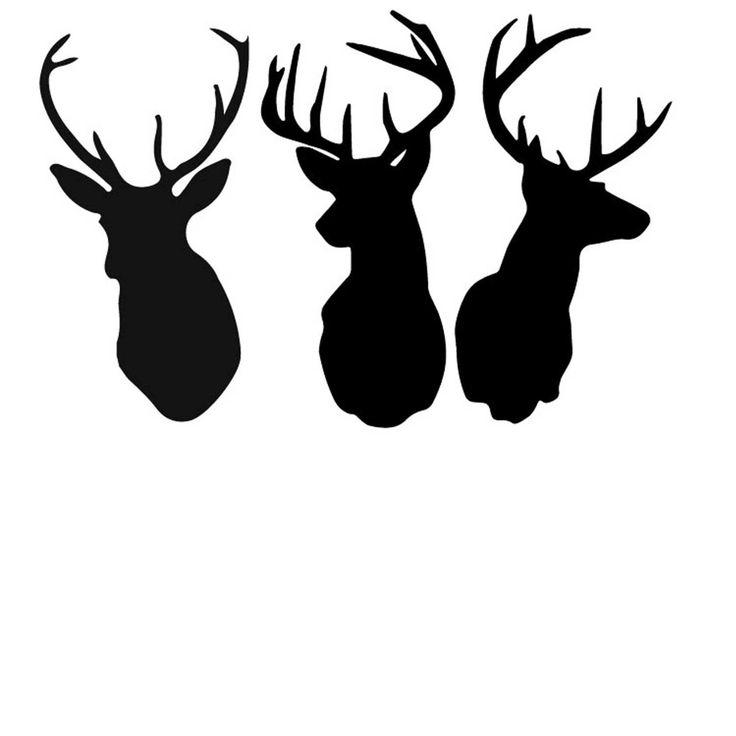 Free Deer Print Wood-Burning Patterns - Bing Images u0026middot; Deer Head Silhouette ...