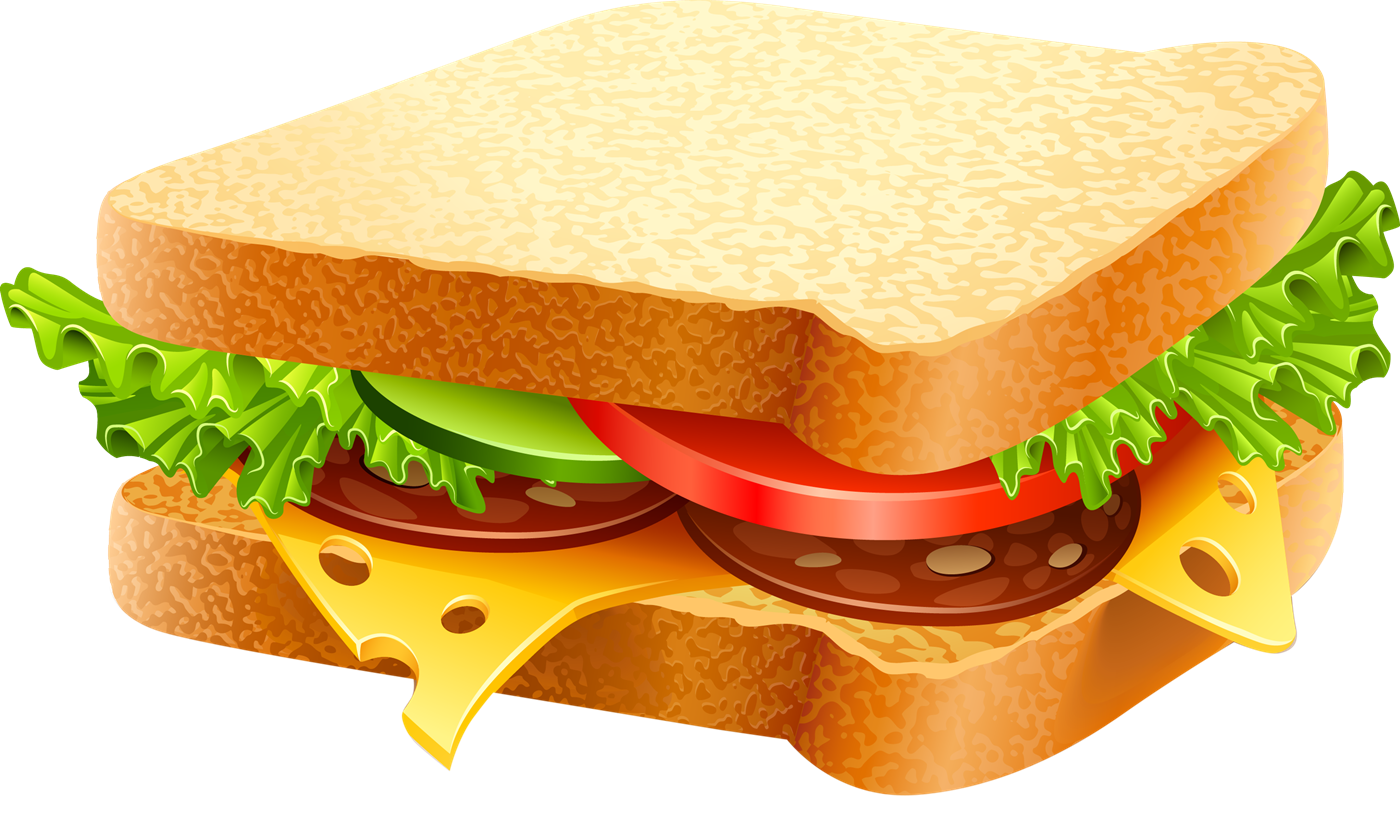 Free Delicious Sandwich Clip Art