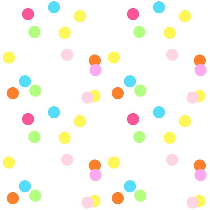 Free Digital Confetti Scrapbooking Paper Ausdruckbares u0026middot; Birthday Free Transparent Free Party Clipart ...