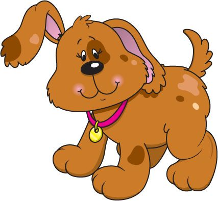 Free Dog Clip Art   ... /Carson Dellosa Letters and Numbers/Images