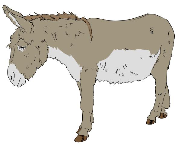 Free Donkey Clipart