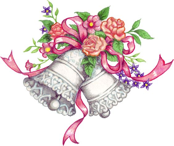 free downloadable wedding clipart | Free Wedding Bells Graphic - Transparent PNG files and Paint Shop
