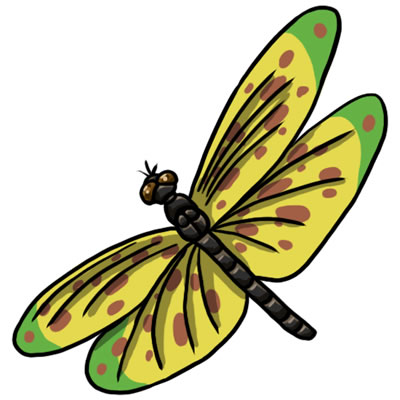 Free Dragonfly Clip Art 20 ...