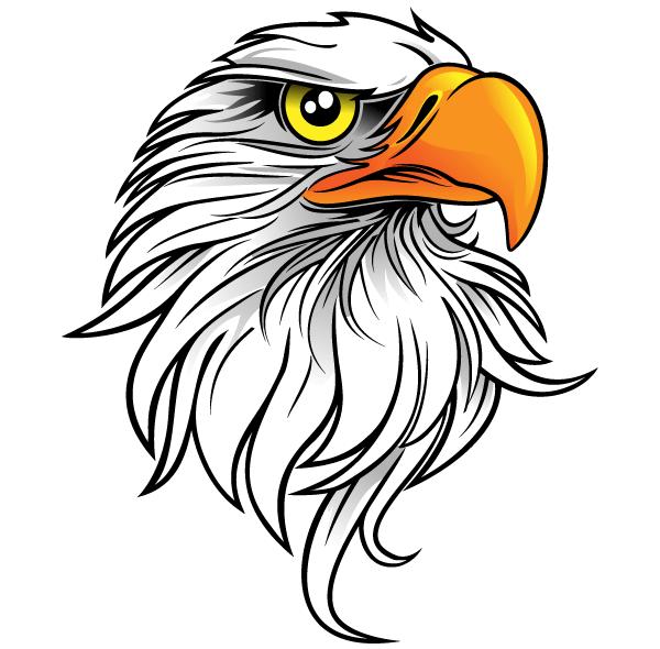 Free Eagle Head Clip Art ..