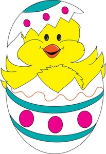 Free Easter Chick Clipart Clipart Best