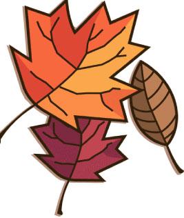 Free Fall Leaves Clip Art