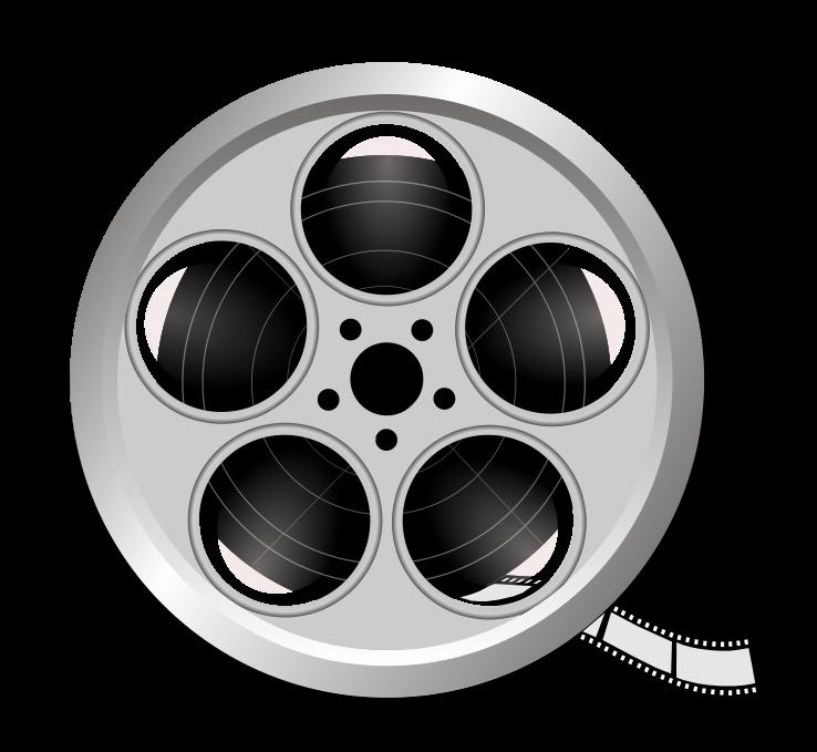 Free Film Reel 2 Clip Art