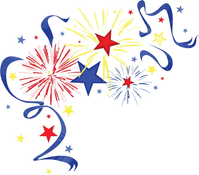 Free Fireworks Clipart