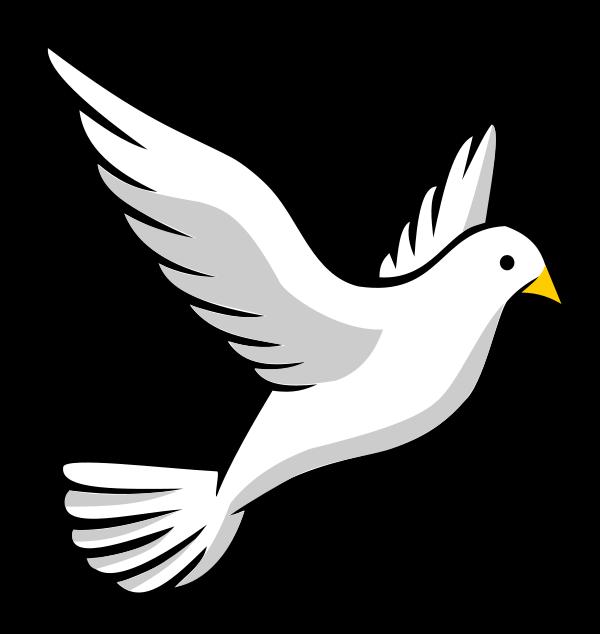 Free Flying Dove Clip Art