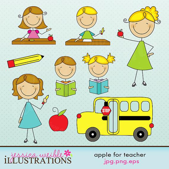 Free For Teachers Cute Clipart .