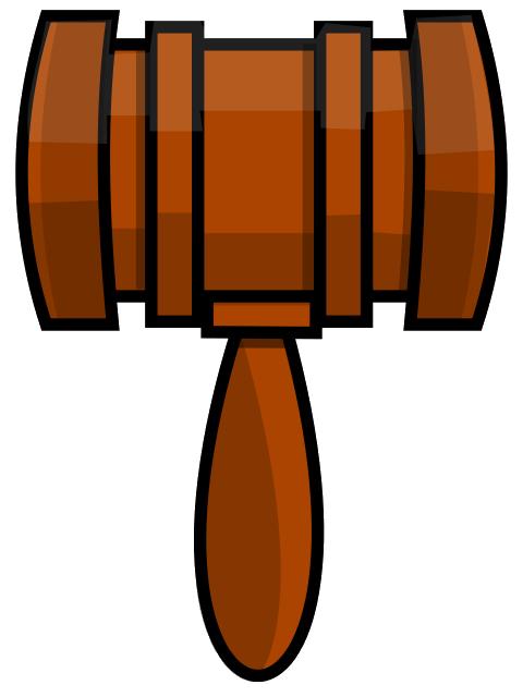 Free Gavel Clip Art u0026middot; gavel3