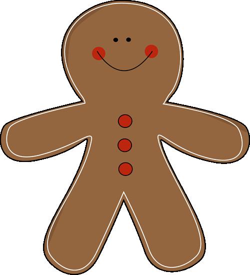 Free gingerbread man clip art
