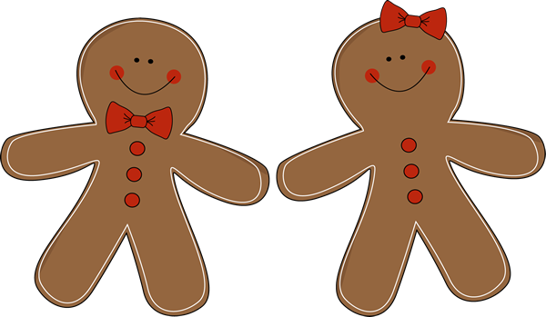 Free gingerbread man clipart the cliparts