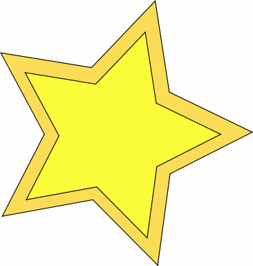 Free Gold Star Clipart .