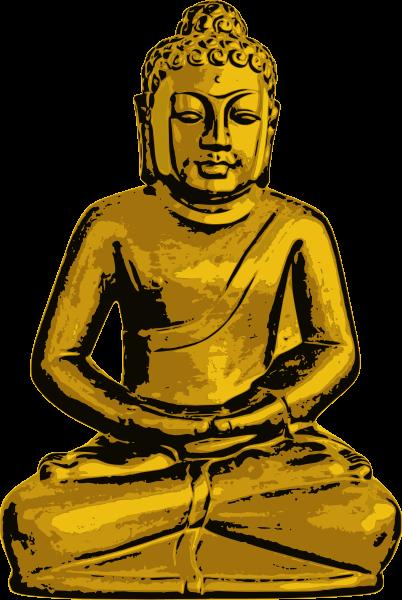 Free Golden Buddha Clip Art