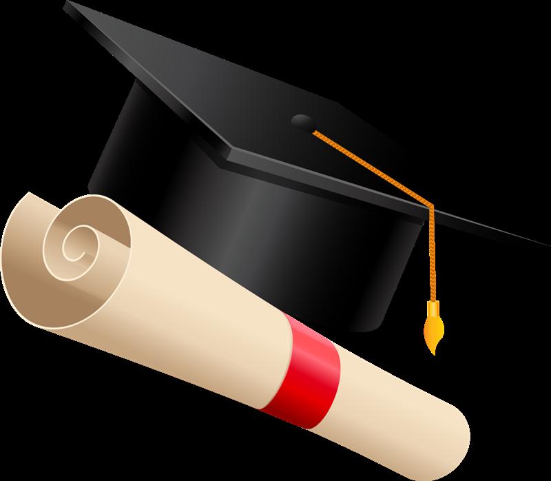 Free Graduation Hat Clip Art