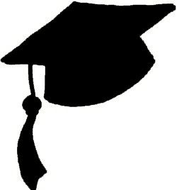 Free Graduation Hat Clipart of Graduation hat graduation cap picture clipart image for your personal projects, presentations or web designs.