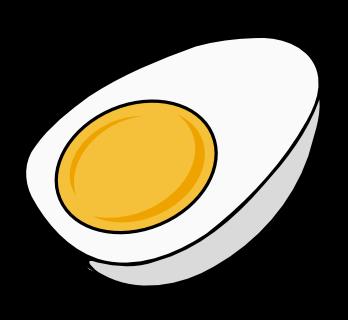 Free Half Boiled Egg Clip Art
