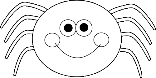 Free Halloween Clipart . Black and white Halloween .