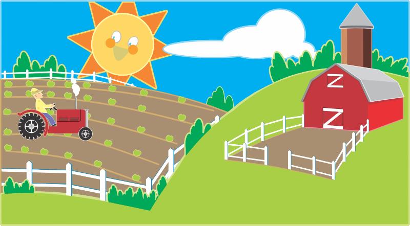 Free Happy Farm Clip Art