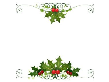 Free Holiday Clip Art Borders | photos of borders page borders border sets card borders from
