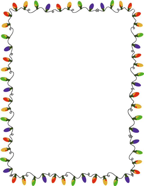 Free Holiday Clipart Borders - .