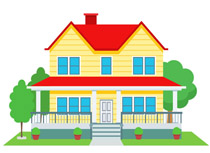 Free Home Clipart - Clip Art Pictures - Graphics - Illustrations