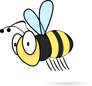 Free Honey Bee Clipart