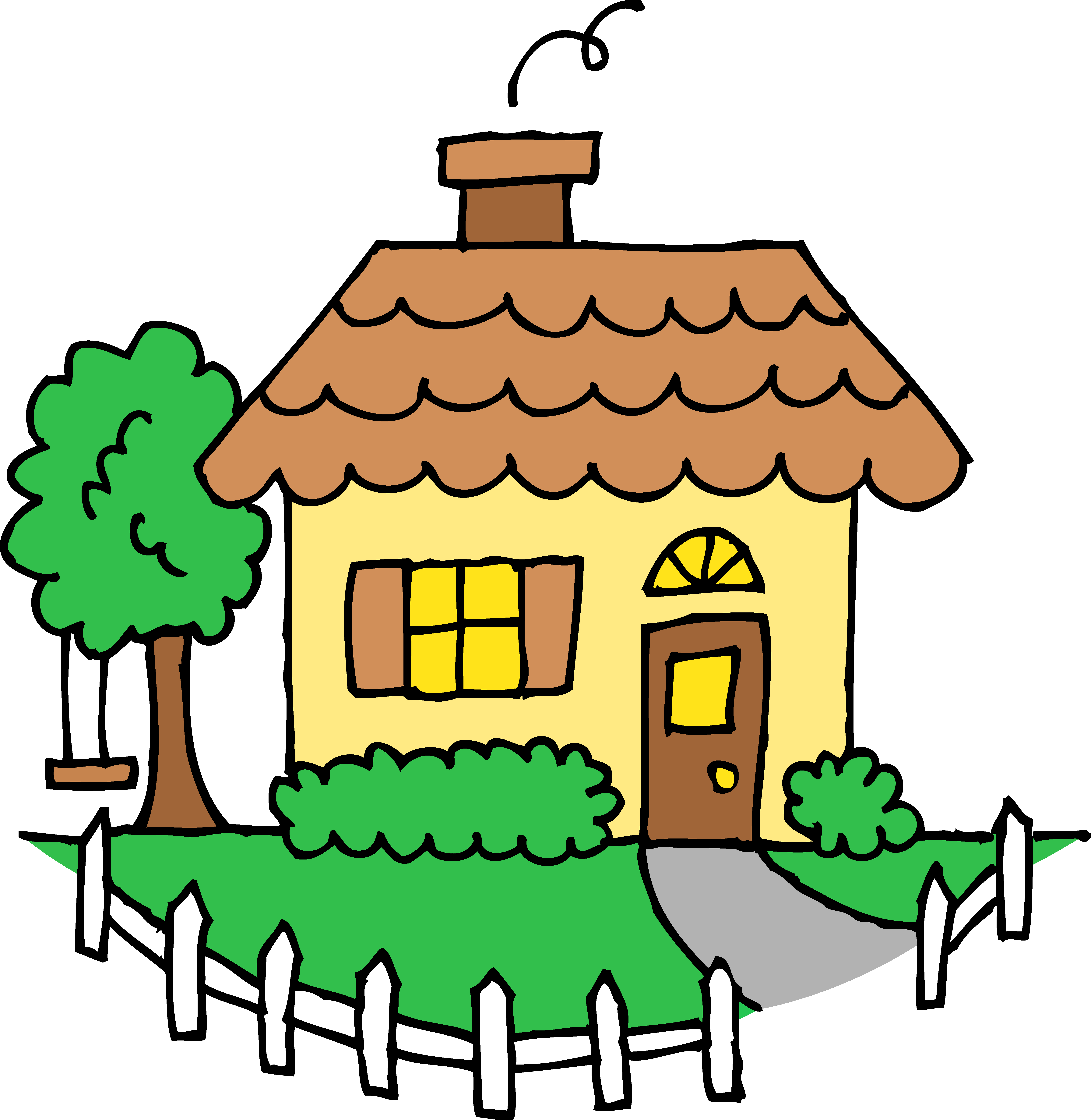 Free House Clipart - clipartall