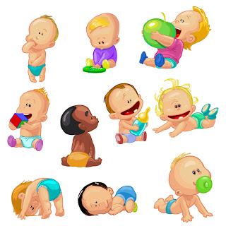 Free images of babies clip art