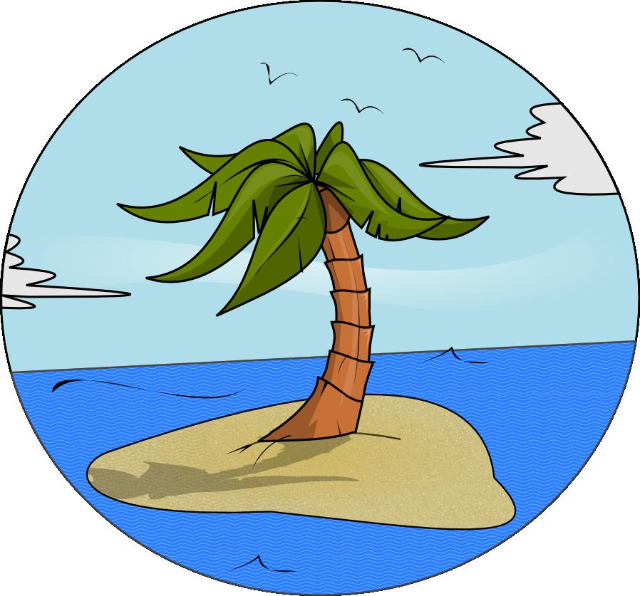 Free Island Paradise Clip Art