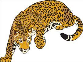 Free jaguar clipart image