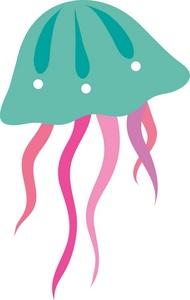 ... Free Jellyfish Clip Art Image - clip art illustration of a jellyfish ...