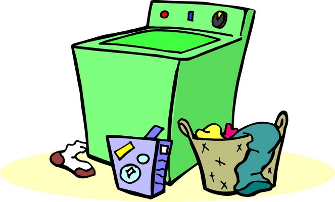 Free laundry clipart clip art image of 2 image