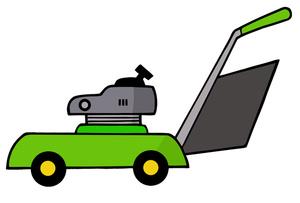 Free lawn mower clip art .