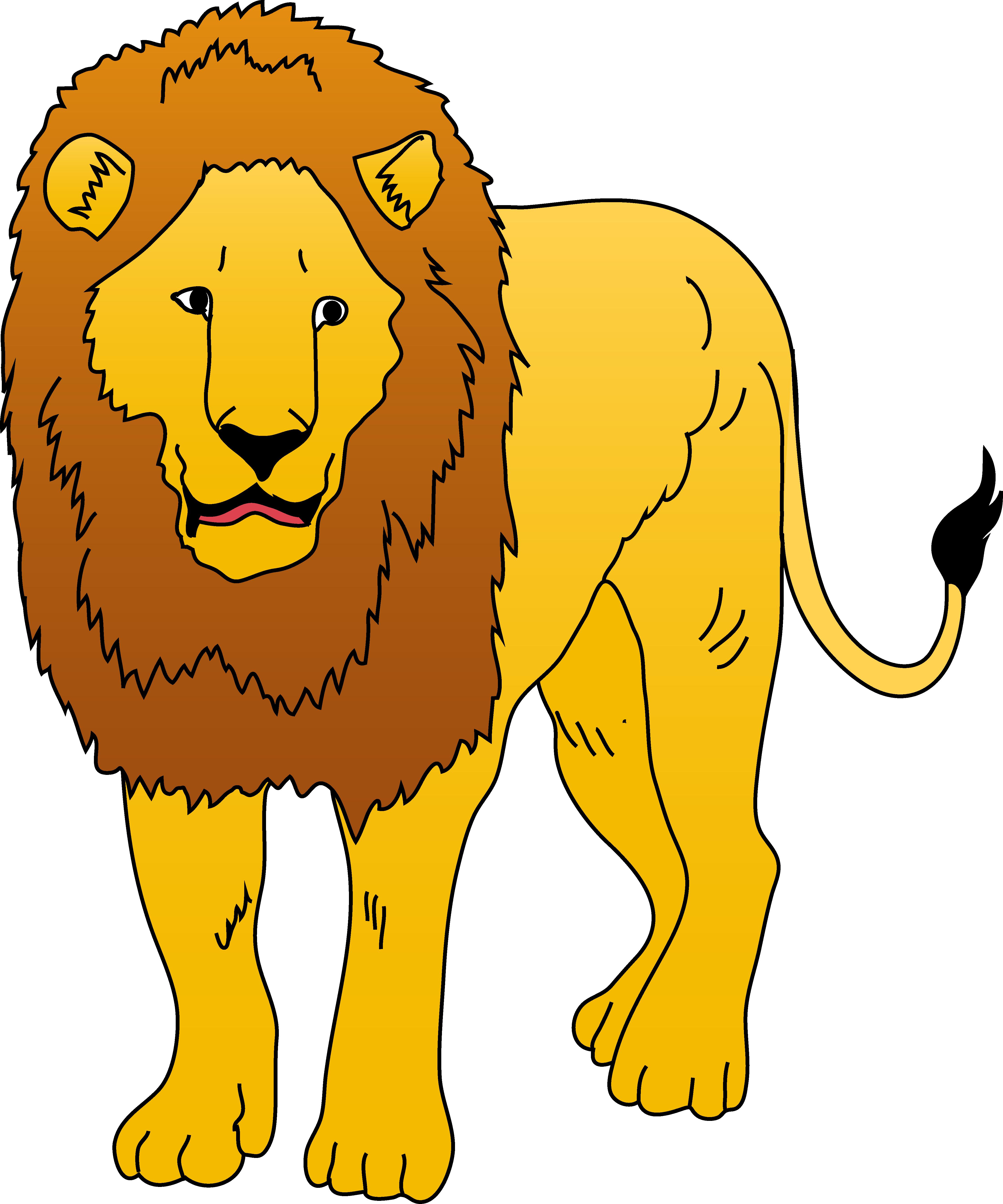 Free lion clipart - .