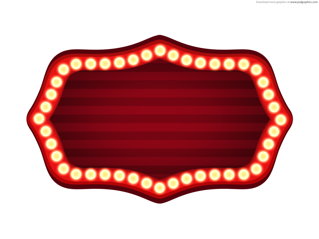 Free Marquee Clipart Clipart Best