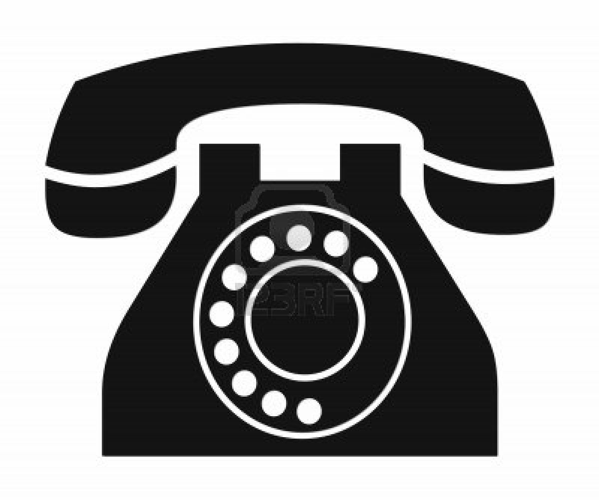 Free mobile phone clip art .