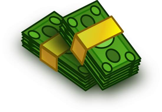 Free money clipart image clipart image