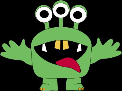 Free monster clipart 2